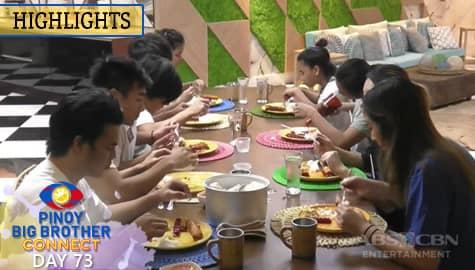 Day 73: Kuya, inurasan ang pagkain ng mga housemates | PBB Connect Image Thumbnail