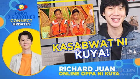 Ella at Andrea, naging kasabwat ni Kuya para sa weekly task | PBB Connect Update w/ Richard Juan Image Thumbnail