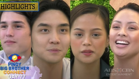 Day 77: Ella, Kobie, Ralph at Quincy, humingi ng suporta sa taumbayan | PBB Connect Image Thumbnail