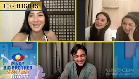 PBB Kumunect Primetime: Crismar, Alyssa at Gail, nagbigay ng komento sa tungkol kina Kobie at Ralph | PBB Connect Image Thumbnail