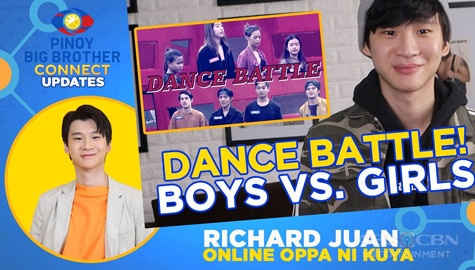Housemates, nagharap sa isang dance battle | PBB Connect Update w/ Richard Juan Image Thumbnail