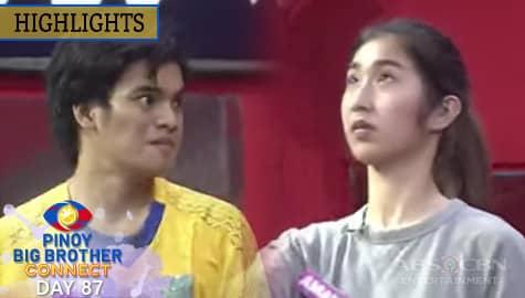 Day 87: Housemates, itinuloy ang kanilang diskarte sa first karapatdapat challege   PBB Connect Image Thumbnail