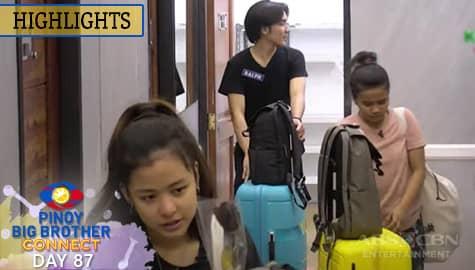 Day 87: Kuya, ipinakuha na muli ang gamit ng mga housemates   PBB Connect Image Thumbnail