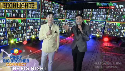 The Big Night: Robi at Richard, kinamusta ang virtual taumbayan | PBB Connect Thumbnail