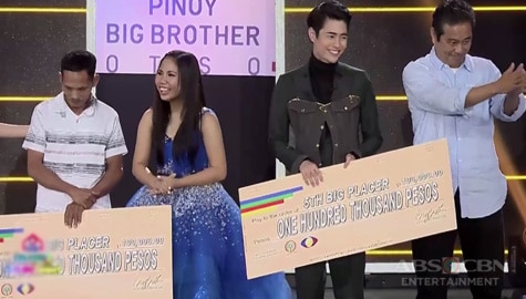 PBB Otso Big Night: Lie and Fumiya - 6th and 5th Big Placer Image Thumbnail
