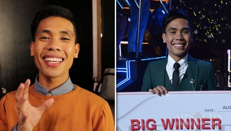 What PBB Otso Ultimate Big Winner Yamyam Gucong plans to do with his prizes Image Thumbnail