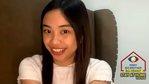 "WATCH: Maymay surprised, touched in tearful reunion with Big Brother on ""PBB Balikbahay Stay At Home"" edition Image Thumbnail"