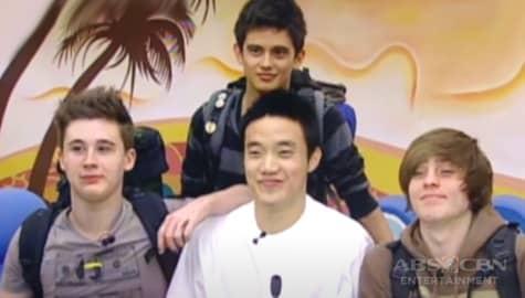 PBB Balikbahay: Ang unang araw nina James Reid, Ryan Bang at iba pang Teen-ternationals sa bahay ni Kuya Image Thumbnail
