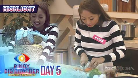 Day 5: Karen, ipinagluto ang kanyang mga housemates Thumbnail