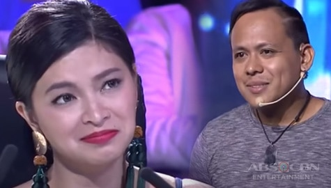 WATCH: 2018 Auditions: 27-year-old Michael kisses Angel Locsin during his acting performance   PGT Season 6  Image Thumbnail