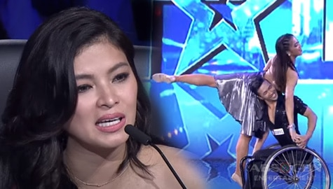 WATCH: Dancesport Duo earns golden buzzer from Angel Locsin with their show-stopping performance | PGT Season 6 Image Thumbnail