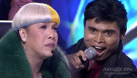 """WATCH: Rodimer Baselotte gets standing ovation with his impressive rendition of """"Anak"""" 