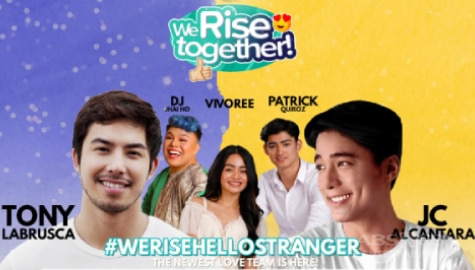 We Rise Together LIVE with Vivoree, Patrick Quiroz, DJ Jhai Ho, JC Alcantara and Tony Labrusca Image Thumbnail