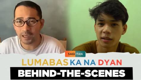 Sagutan Behind-The-Scenes: Ali Abinal & Jojit Lorenzo share opinion on LGBTQ+ coming out story Image Thumbnail