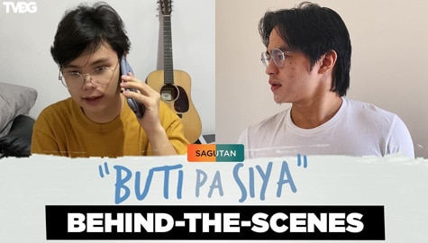 Jem Macatuno and Elyson De Dios take roles of siblings in rivalry | Sagutan Behind-the-scenes Image Thumbnail