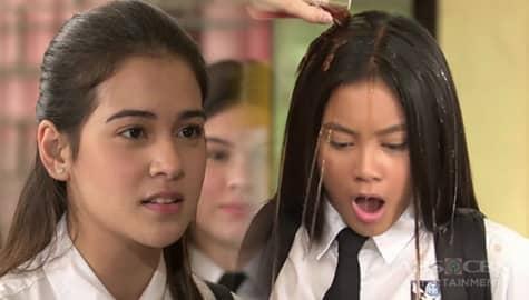 Sana Dalawa Ang Puso: Emily, binuhusan ng juice si Tads! Image Thumbnail
