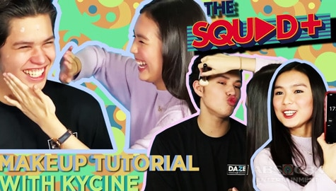 WATCH: Makeup Tutorial with Kyle and Francine | The Squad+ Image Thumbnail
