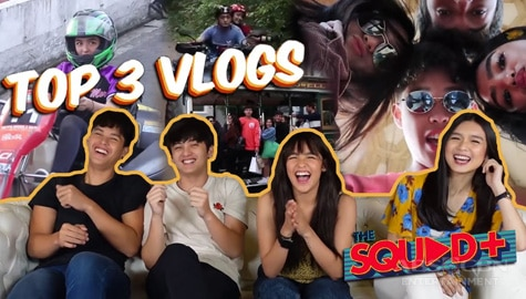 WATCH: KyCine and SethDrea rank their Top 3 favorite vlogs | The Squad Plus Image Thumbnail