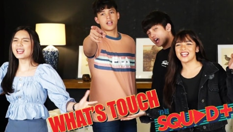 WATCH: What's Touch Challenge with KyCine and SethDrea | The Squad Plus Image Thumbnail