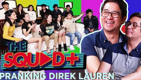 WATCH: Pranking Direk Lauren with awkward questions | The Squad Plus Image Thumbnail