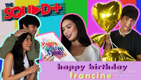 WATCH: A Special Birthday Surprise for Francine | The Squad Plus Image Thumbnail