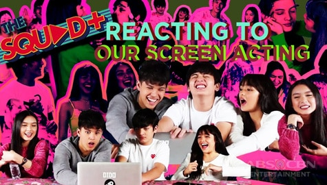 WATCH: KyCine and SethDrea react to their memorable acting scenes | The Squad Plus Image Thumbnail