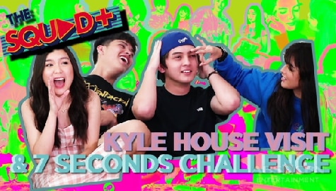WATCH: Kyle House Visit + 7 Seconds Challenge | The Squad Plus Image Thumbnail
