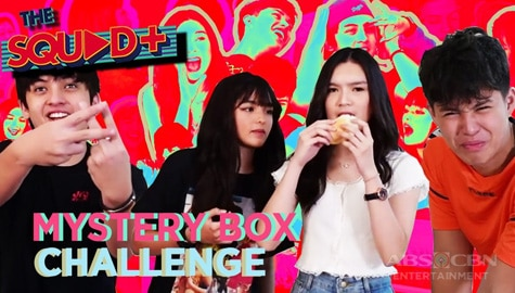 WATCH: Mystery Box Challenge with KyCine and SethDrea | The Squad Plus Image Thumbnail