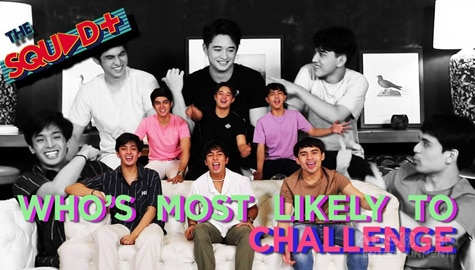 WATCH: Who's Most Likely To Challenge with Boy Squad | The Squad Plus Image Thumbnail