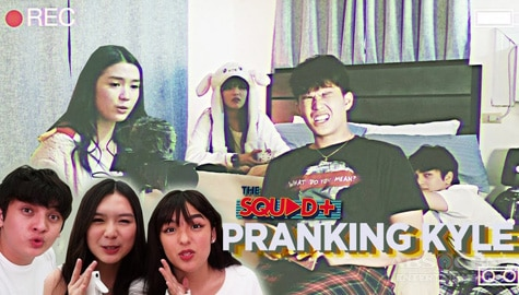 WATCH: Pranking Kyle with Andrea, Seth and Francine | The Squad Plus Image Thumbnail