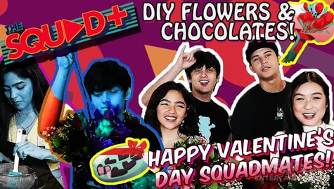 WATCH: DIY Flowers + Chocolates with KyCine and SethDrea | The Squad Plus Image Thumbnail