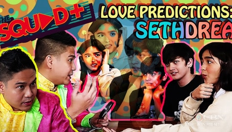 WATCH: Love Predictions with Seth and Andrea | The Squad Plus Image Thumbnail