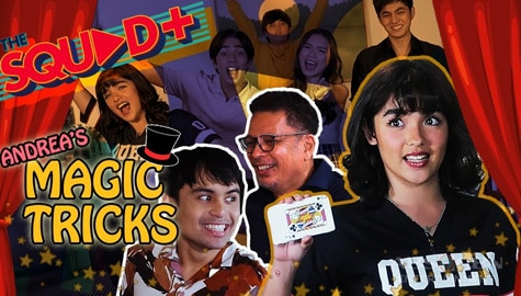 WATCH: Andrea Brillantes amazes everyone with her magic tricks | The Squad+ Image Thumbnail