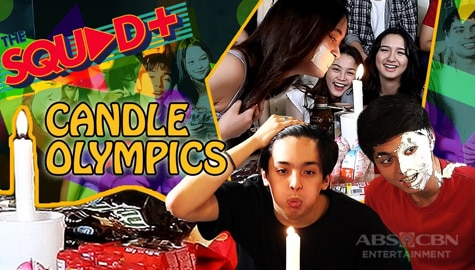 WATCH: Candle Olympics with The Squad+ Image Thumbnail