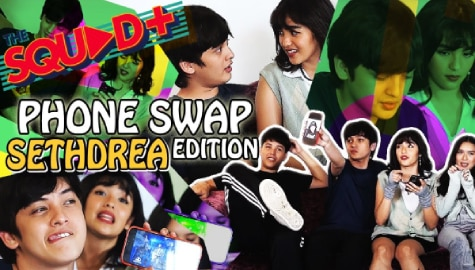 WATCH: Phone Swap with SethDrea | The Squad+ Image Thumbnail