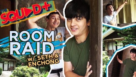 Room Raid with Seth and Enchong | Squad Plus Image Thumbnail