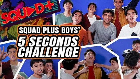 WATCH: 5 Seconds Challenge with the Boy Squad | The Squad+ Image Thumbnail