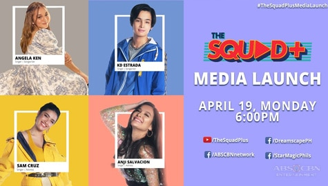 WATCH: The Squad+ Media Launch with Angela, KD, Anji and Sam Image Thumbnail
