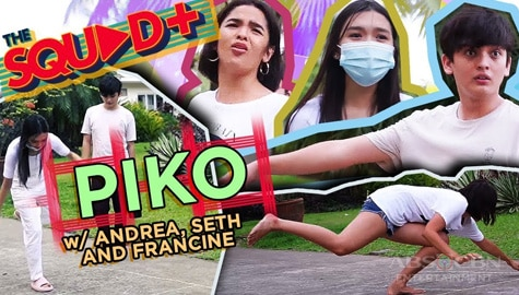 WATCH: Larong Piko with Andrea, Seth and Francine | The Squad+ Image Thumbnail