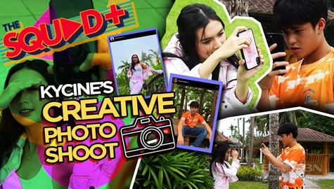 WATCH: Creative + Kilig Photoshoot with Kyle and Francine | The Squad+ Thumbnail