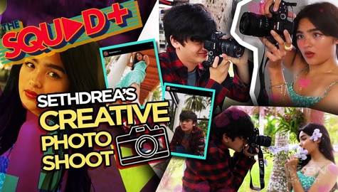 WATCH: Creative + Kilig Photoshoot with Seth and Andrea | The Squad+ Thumbnail
