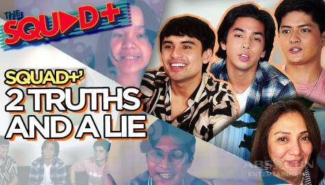 WATCH: 2 Truths and A Lie with The Squad+ Image Thumbnail