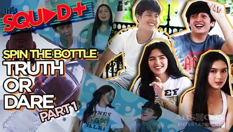 PART 1: Spin The Bottle + Truth or Dare with The Gold Squad | The Squad+ Image Thumbnail