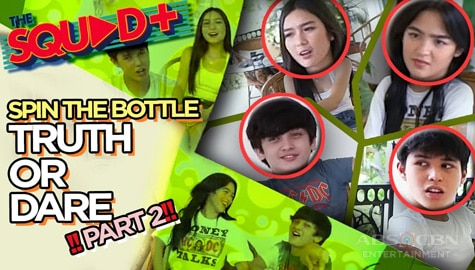 PART 2: Spin The Bottle + Truth or Dare with The Gold Squad | The Squad+ Image Thumbnail
