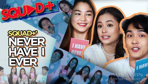 WATCH: Never Have I Ever with Keann, Angelica, Andi, Margaux, and Raven | The Squad+ Image Thumbnail
