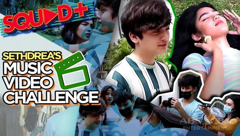WATCH: Music Video Challenge with Seth and Andrea | The Squad+ Image Thumbnail