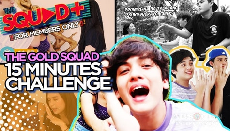WATCH: 15 Minutes Challenge with The Gold Squad | The Squad+ Image Thumbnail