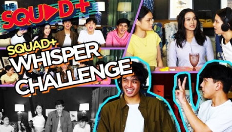WATCH: Whisper Challenge with The Squad+ Image Thumbnail