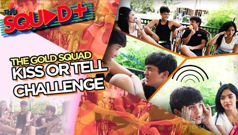 WATCH: Kiss or Tell Challenge with The Gold Squad | The Squad+ Image Thumbnail