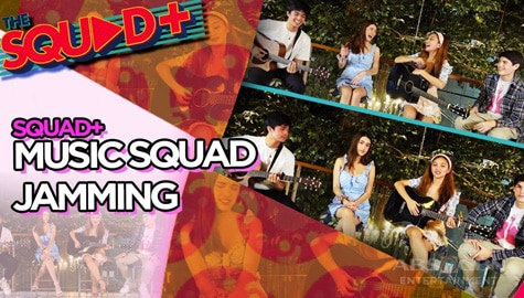 WATCH: Music Squad Jamming with KD, Angela, Kobie and Sam | The Squad+ Image Thumbnail
